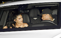 HOLLYWOOD, CA - AUGUST 26: Kylie Jenner and Tyga spotted in his new Bentley at Jordyn Wood x boohoo Launch Party at Neuehouse on August 31, 2016 in Hollywood, CA. . Credit: Koi Sojer/Snap'N U Photo/MediaPunch