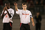 1 November 2006: Maryland's Stephen King (7). Maryland defeated Boston College 1-0 in double overtime at the Maryland Soccerplex in Germantown, Maryland in an Atlantic Coast Conference college soccer tournament quarterfinal game.