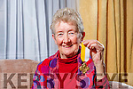 Peg Blackett from Ballyheigue has received the Benemerenti Medal POPE'S Medal for 40 years service to the church