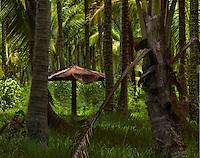 Coco Palms Ruin, Kauai
