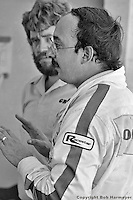 Bobby Rahal in the pit lane during the 1982 12 Hours of Sebring IMSA race in Sebring, Florida, USA.