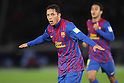Adriano (Barcelona), .December 15, 2011 - Football : .FIFA Club World Cup Japan 2011, Semi-Final match .between FC Barcelona 4-0 Al-Sadd Sports Club .at Yokohama International Stadium, Kanagawa, Japan. .(Photo by Daiju Kitamura/AFLO SPORT) [1045]
