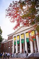 Waterman Building, Fall UVM Campus