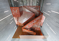 Copper Staircase, Villa Mallorca. Arup
