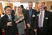 Pictured from left is Nick Max of NG1 Group, Jenny Mitchell of Jen Creative, Ian Whiley of Swindell & Pearson and Parry Leggett of George Square Financial Management