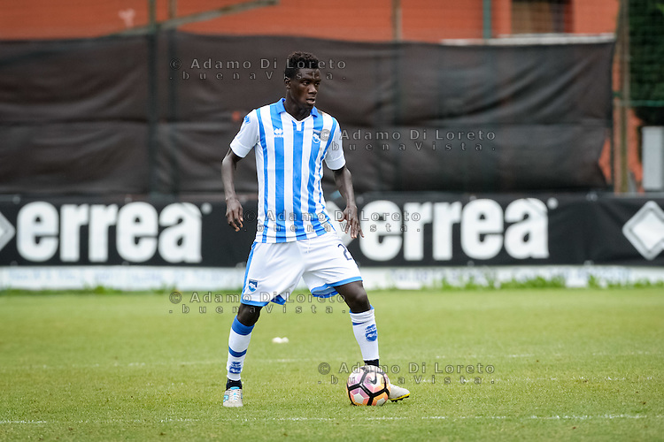 Selasi Ransford (Pescara) during the withdrawal preseason Serie A; match friendly between Pescara vs San Nicolò, on July 28, 2016. Photo: Adamo Di Loreto/BuenaVista*photo
