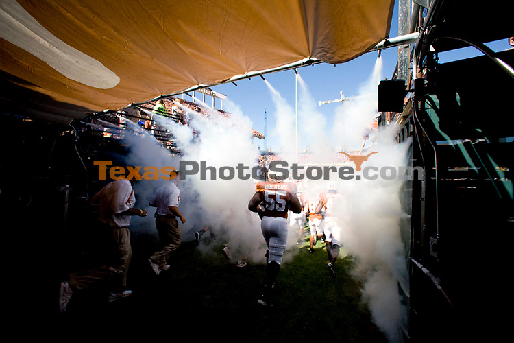 football vs. nebraska.(The University of Texas/Jim Sigmon)