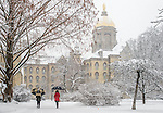 Snow Morning.JPG by Matt Cashore/University of Notre Dame