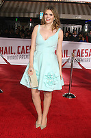 Carly Steel<br /> at the &quot;Hail, Caesar&quot; World Premiere, Village Theater, Westwood, CA 02-01-16<br /> David Edwards/DailyCeleb.com 818-249-4998