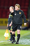 St Johnstone v Motherwell....26.01.11  .Stuart McCall directs his players.Picture by Graeme Hart..Copyright Perthshire Picture Agency.Tel: 01738 623350  Mobile: 07990 594431