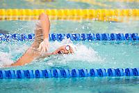 Santa Clara, California - Saturday June 4, 2016: Sun Yang races in the Men's 400 LC Meter Freestyle at the Arena Pro Swim Series at Santa Clara.