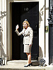 Downing Street after meetings at The House of Commons to appoint new government ministers<br /> 11th May 2015 <br /> <br /> new cabinet ministers arriving or leaving 10 Downing Street <br /> <br /> Justine Greening arriving for a meeting with David Cameron <br /> <br /> <br /> Photograph by Elliott Franks <br /> Image licensed to Elliott Franks Photography Services