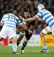 Rugby World Cup Auckland  New Zealand v Argentina Quarter Final 4 - 09/10/2011.  (New Zealand)    (Argentina).Photo Frey Fotosports International/AMN Images