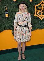BEVERLY HILLS - OCTOBER 15:  Kristen Bell at the 7th Annual Veuve Clicquot Polo Classic at Will Rogers State Historic Park on October 15, 2016 in Pacific Palisades, California. Credit: mpi991/MediaPunch