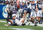 _88R4567..2012 FTB vs Weber State University..BYU - 45.Weber State - 6. .Photo by Jaren Wilkey/BYU..September 8, 2012..© BYU PHOTO 2012.All Rights Reserved.photo@byu.edu  (801)422-7322
