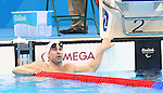 Rio de Janeiro-10/9/2016-Canadian swimmer Benoit Huot  competes in the men's 100m backstroke final at the 2016 Paralympic Games in Rio. Photo Scott Grant/Canadian Paralympic Committee