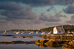 Morning in Stonington Harbor, Stonington, ME, US