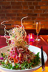 "Lee Restaurant located on King Street West is the latest restaurant from star chef Sursur Lee. Pictured here is the dish, ""Singaporean style slaw"" which features over 18 ingredients."