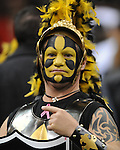 New Orleans Saints fans at the Superdome in New Orleans, La. on Monday, November 28, 2011. New Orleans won 49-24 over New York Giants.