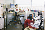 Employees at VOX Media, work at their office in Washington DC.