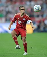 FUSSBALL   1. BUNDESLIGA  SAISON 2011/2012   7. Spieltag FC Bayern Muenchen - Bayer 04 Leverkusen          24.09.2011 Philipp Lahm (FC Bayern Muenchen)
