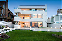 BNPS.co.uk (01202 558833)<br /> Pic: Lloyds/BNPS<br /> <br /> The &pound;6.9 million property on the millionaire's enclave of Sandbanks.<br /> <br /> Humble origins of one of Britain's most exclusive addresses.<br /> <br /> A new book reveals how the millionaire's row of Sandbanks went from being a windswept wasteland to one of the most sought-after addresses in the world has been published. <br /> <br /> Today the harbour-front plots on the exclusive enclave in Poole, Dorset, are crammed with &pound;10m mansions and luxury flats while Ferraris and Bentleys parade its tree-lined streets.<br /> <br /> But you only have to go back the relatively short period of 100 years to see that Sandbanks - or Parkstone-on-Sea as it was known - was once a deserted landscape cut off from the rest of the country.