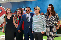 HOLLYWOOD, CA - JULY 9: Andy Garcia, Family at the premiere of Sony Pictures' 'Ghostbusters' held at TCL Chinese Theater on July 9, 2016 in Hollywood, California. Credit: David Edwards/MediaPunch