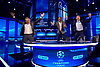 08.03.2017; London, UK: BARCELONA DEMOLISH PSG - BT Sport Presenters Gary Lineker, Rio Ferdinand, Steven Gerrard and Michael Owen spontaneous reaction when Barcelona score the winning goal that sees them through to the next round of the UEFA Champions League Tournament.<br /> Barcelona came back from a 4-0 deficit after the first round in Paris, to win the match 6-1 at the Nou Camp.<br /> Mandatory Photo Credit: &copy;NEWSPIX INTERNATIONAL<br /> <br /> IMMEDIATE CONFIRMATION OF USAGE REQUIRED:<br /> Newspix International, 31 Chinnery Hill, Bishop's Stortford, ENGLAND CM23 3PS<br /> Tel:+441279 324672  ; Fax: +441279656877<br /> Mobile:  07775681153<br /> e-mail: info@newspixinternational.co.uk<br /> Usage Implies Acceptance of Our Terms &amp; Conditions<br /> Please refer to usage terms. All Fees Payable To Newspix International