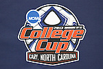 05 December 2013: The 2013 Women's College Cup logo.<br />  The head coach and selected players from teams participating in the 2013 Women's College Cup spoke to the media at WakeMed Stadium in Cary, North Carolina.