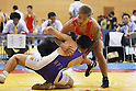Shigeki Osawa, July 2, 2011 - Wrestling : All Japan Industrial Wrestling Championship, Men's Free Style -66kg at Wako General Gymnasium, Saitama, Japan. (Photo by Daiju KitamuraAFLO SPORT) [1045]