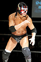 The Great Satsuke, MARCH 25, 2012 - Pro Wrestling: Fukumen Mania event at 1st Ring Shinkiba in Tokyo, Japan.