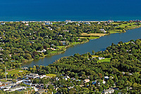 New York, Southampton, Agawam Lake, Aerial