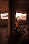 The abandoned Diamond town of Kolmanskop near Luderitz in southern Namibia.