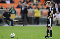 DC United midfielder Dax McCarty (10)   DC United defeated The Seattle Sounders 2-1 at  RFK Stadium, Wednesday May 4, 2011.