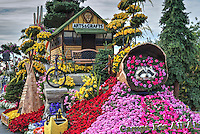 Lions 2016 Float<br /> &quot;Camps for All Abilities&quot; &copy; David Zanzinger. Floats for the New Year's Day Tournament of Roses Parade evolved from flower-decorated horse carriages into floats. The floats are required to be covered with plant material, living or dead. Visit http://david-zanzinger.artistwebsites.com/ for galleries