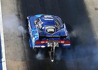 Jun 17, 2016; Bristol, TN, USA; NHRA funny car driver John Hale during qualifying for the Thunder Valley Nationals at Bristol Dragway. Mandatory Credit: Mark J. Rebilas-USA TODAY Sports