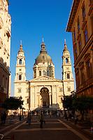 St Stephen's Basilica, ( Szent Istvan Bazilika ) , Neo Classical building, Budapest, Hungary