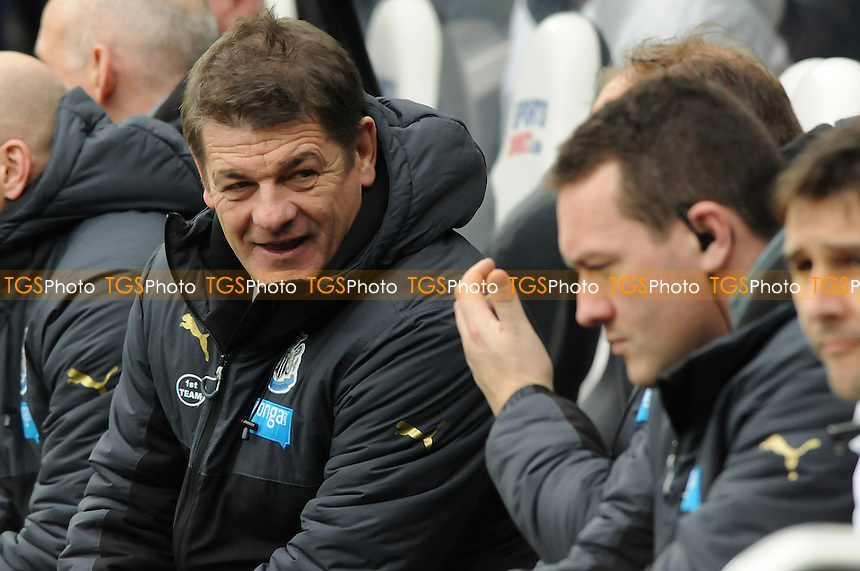 Newcastle United manager John Carver - Newcastle United vs Arsenal - Barclays Premier League Football at St James Park, Newcastle upon Tyne - 21/03/15 - MANDATORY CREDIT: Steven White/TGSPHOTO - Self billing applies where appropriate - contact@tgsphoto.co.uk - NO UNPAID USE