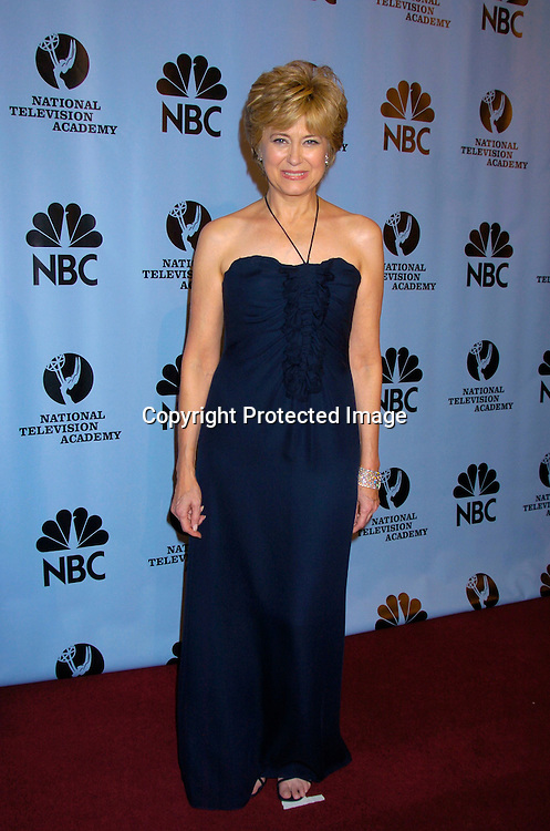 Jane Pauley ..at the Daytime Emmy Awards on May 21, 2004 in the Press Room at Radio City Music Hall...Photo by Robin Platzer, Twin Images