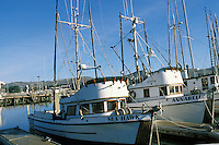 California, Bodega Bay, Fishing boats, Bodega Harbor