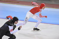 SCHAATSEN: SALT LAKE CITY: Utah Olympic Oval, 15-11-2013, Essent ISU World Cup, 500m, Igor Bogolubsky (RUS), ©foto Martin de Jong