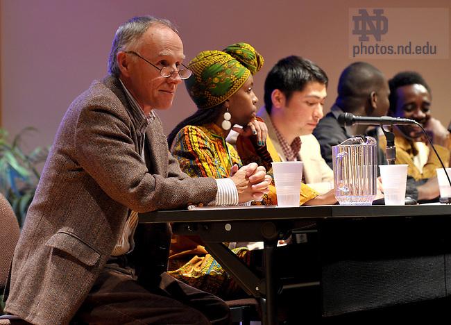 Apr. 1, 2011; Undergraduate Peace Conference at the Kroc Institute...Photo by Matt Cashore/University of Notre Dame
