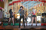 Michael Barimo performs ath the Las Vegas San Gennaro Feast on Sept 10-12