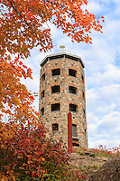 &quot;Enger Tower in Autumn&quot;<br /> Duluth's iconic Enger Tower stands among autumn's vibrant foliage.