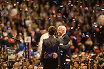 Senator John McCain excepts the republican nomination for president in Saint Paul, Minnesota Thursday night. He's joined on stage with his wife Cindy and running mate Sarah Palin.
