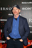 LOS ANGELES, CA - OCTOBER 25: Ron Howard at  the screening of Sony Pictures Releasing's 'Inferno' held at the DGA Theater on October 25, 2016 in Los Angeles, California. Credit: David Edwards/MediaPunch