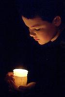 Boys candle