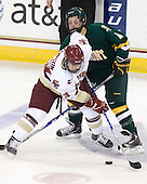 Cam Atkinson (BC - 13), Nick Bruneteau (Vermont - 4) - The Boston College Eagles defeated the visiting University of Vermont Catamounts 6-0 on Sunday, November 28, 2010, at Conte Forum in Chestnut Hill, Massachusetts.