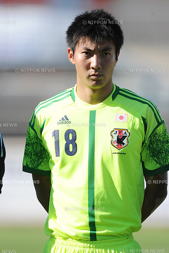 Shunsuke Ando (JPN),.MAY 23, 2012 - Football / Soccer :.2012 Toulon Tournament Group A match between U-21 Turkey 2-0 U-23 Japan at Stade Perruc in Hyeres, France. (Photo by FAR EAST PRESS/AFLO)