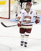 Kelli Stack (BC - 16) - The Boston College Eagles defeated the visiting Brown University Bears 5-2 on Sunday, October 24, 2010, at Conte Forum in Chestnut Hill, Massachusetts.